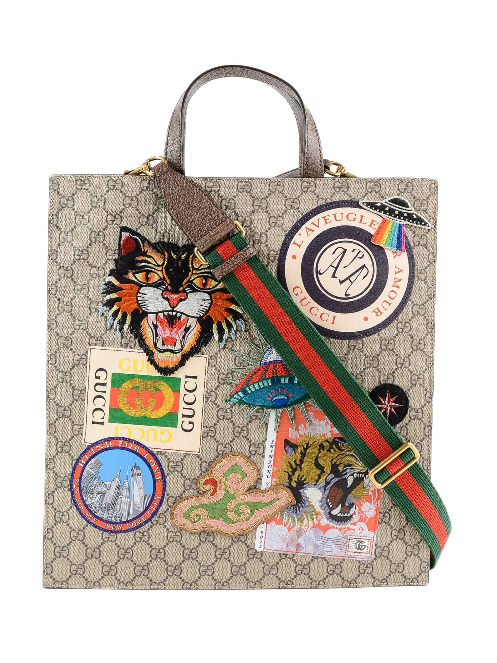 be1a564a30ebf GUCCI COURRIER SOFT GG SUPR. TOTE.  gucci  bags  hand bags  tote ...