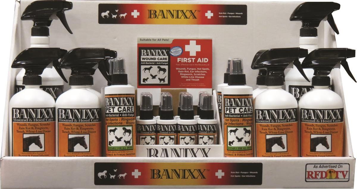 075009 Banixx Starter Kit Counter Display, 15Piece