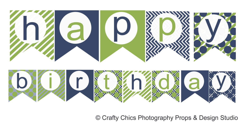 Happy Birthday Banner Printable Google Search Printables