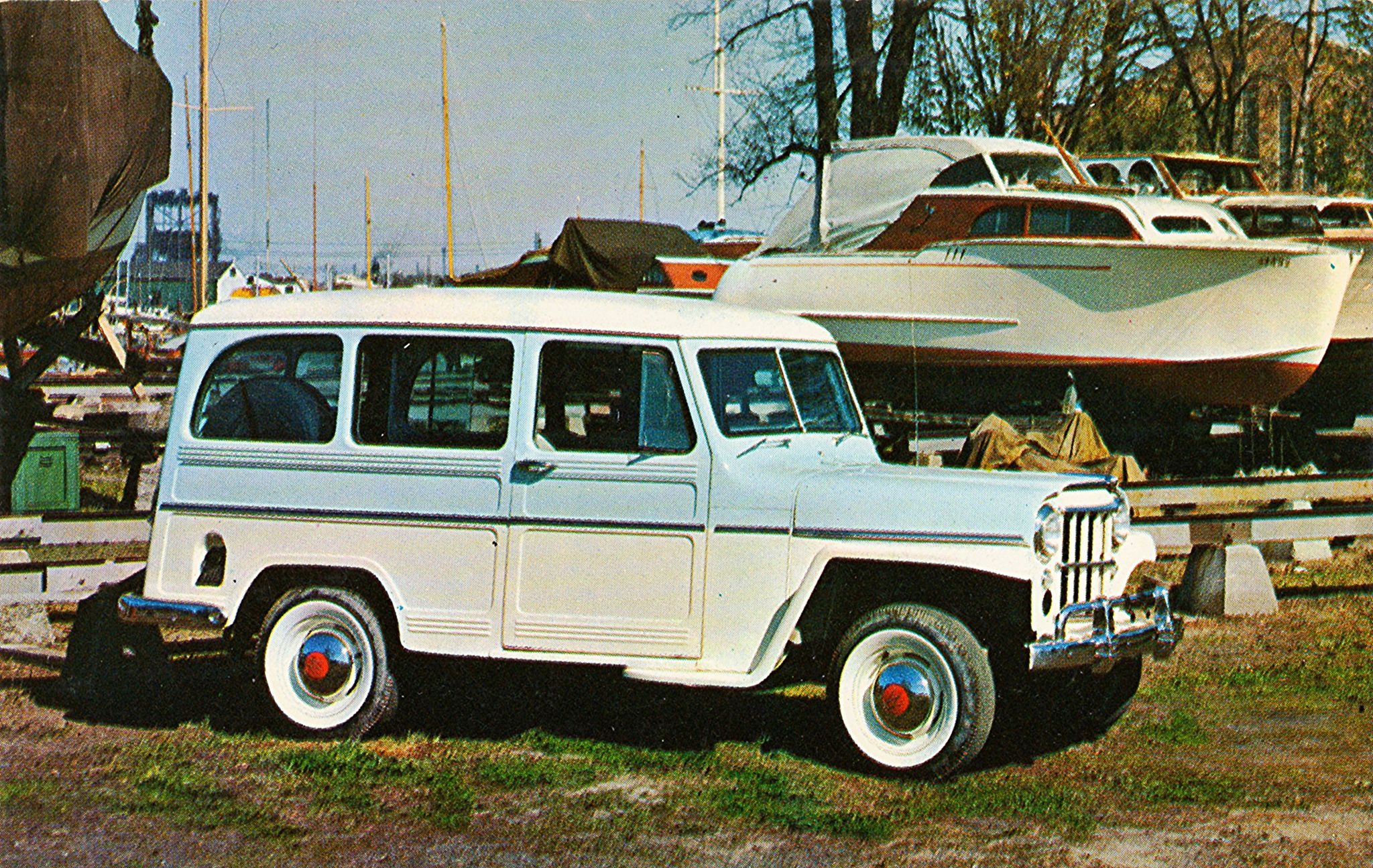 1957 Willys Jeep Utility Wagon Willys Jeep Willys Willys Wagon