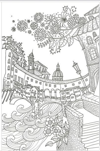 A BELLA ITALIA MADE IN KOREATOP QUALITYColoring Book For