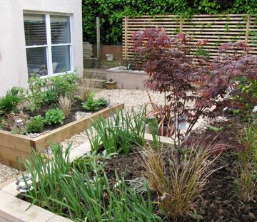 small grassless uk back garden - Google Search | Garden ... on Grassless Garden Ideas id=83131