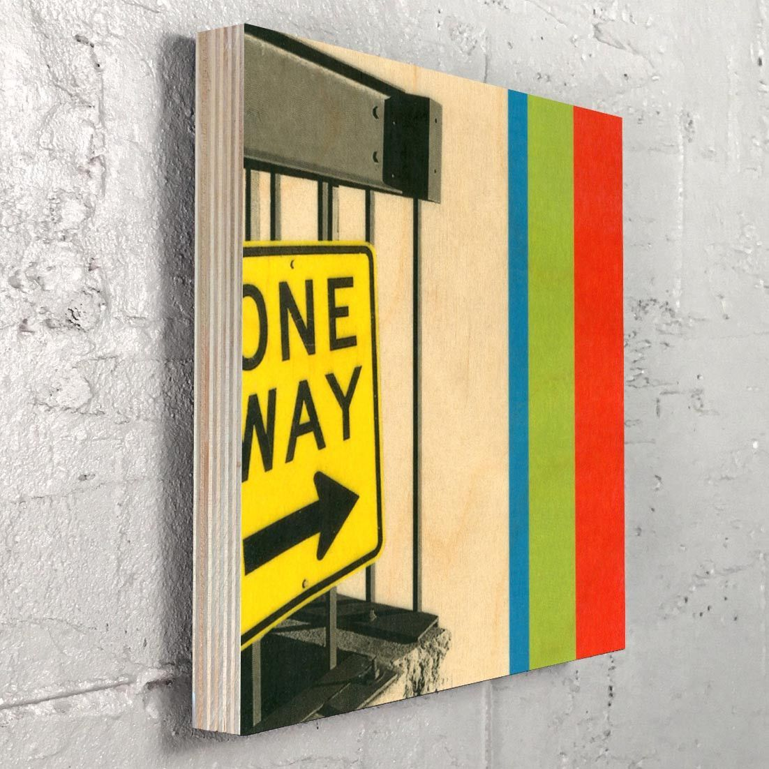 One Way - Graphic Design Street Sign Urban Art Wall Decor | Art we ...