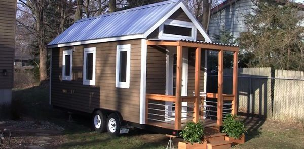 Video interior casa madera movil 1 campers tiny house - Casas con ruedas ...