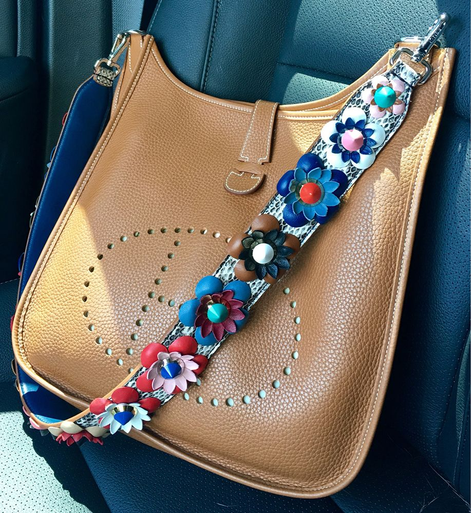 3397ff11fe tPF Member  Amozo Bag  Hermès Evelyne Bag Strap  Fendi Floral Python Strap  Shop strap via Neiman Marcus