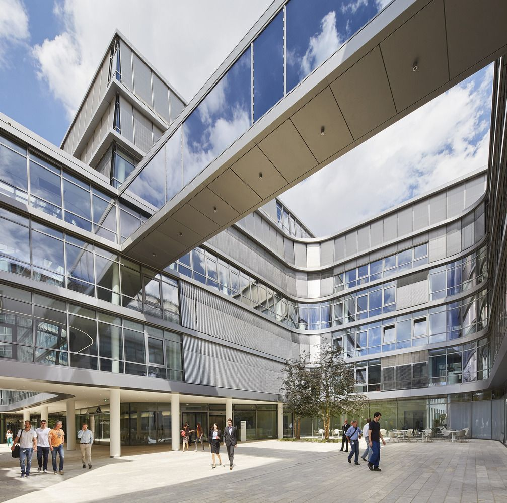 Siemens Headquarters,© Hufton + Crow