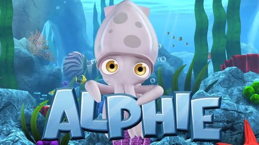 Fun with Alphie the Squid for iPad Educational apps for