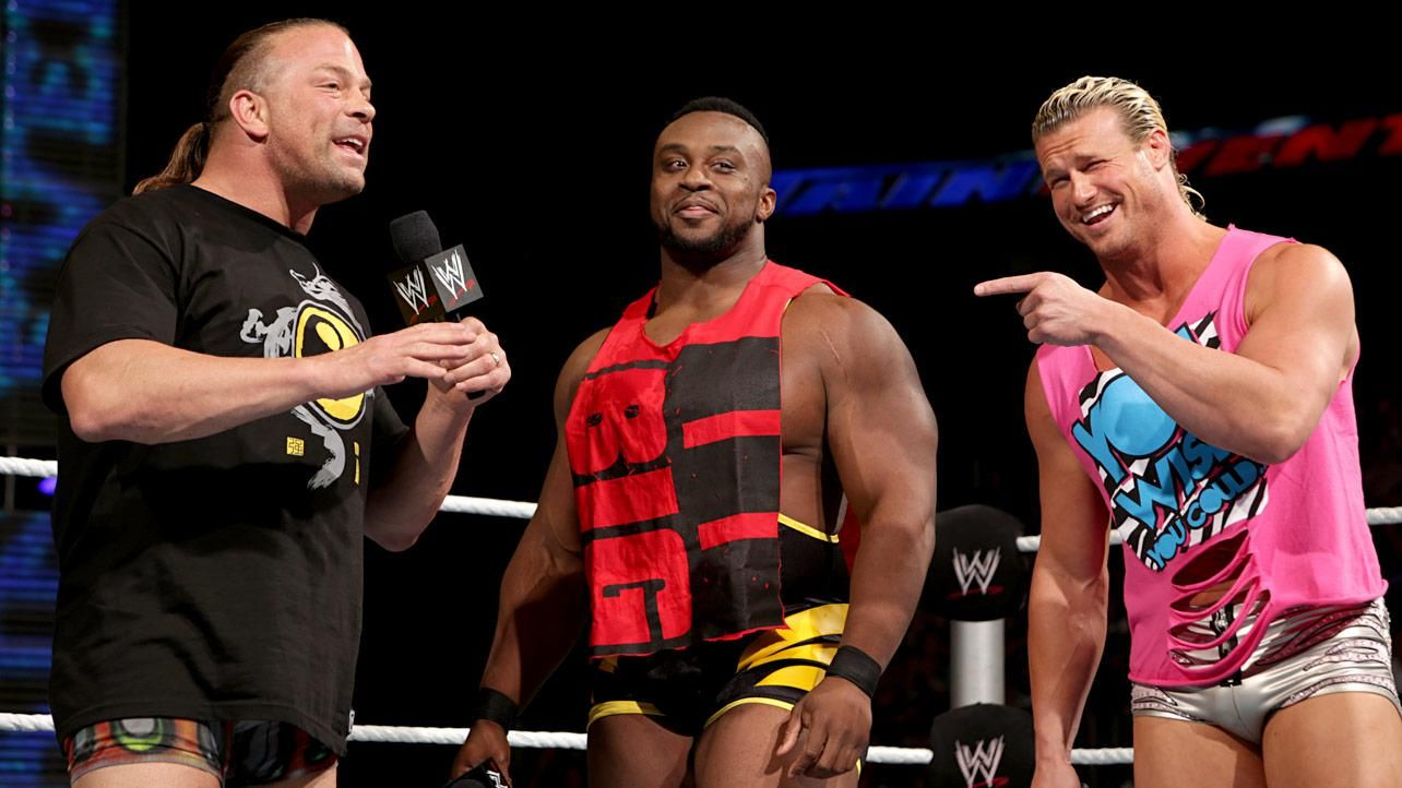 Rob Van Dam, Big E, and Dolph Ziggler | Dolph ziggler, Rob