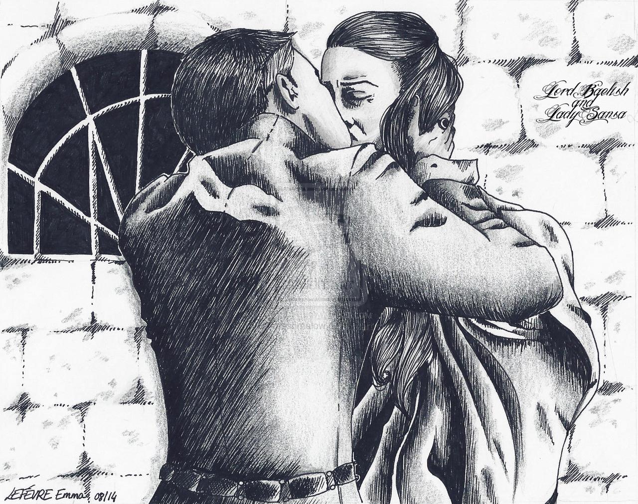 EC = Lord Baelish and Lady Sansa GOT 15.08.2014 fi by Emmashmalow.deviantart.com on @deviantART