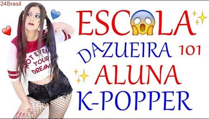ESCOLA DA ZUEIRA 101 ALUNA K-POPPER