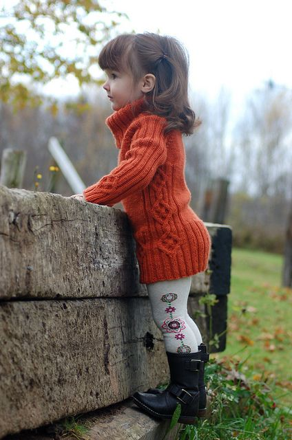 bc048c8d0 The cutest little outfit on a little girl... love the sweater dress ...