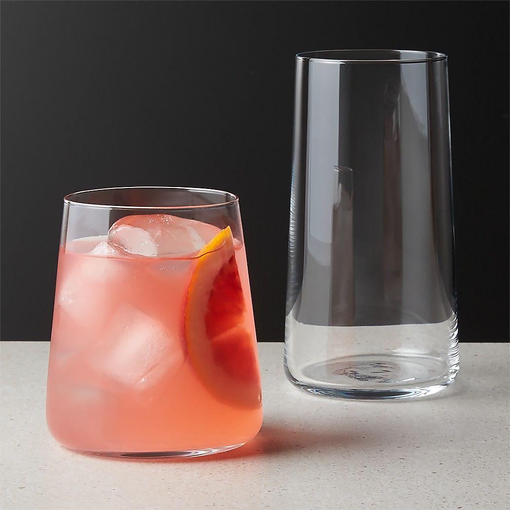 Neat Barware Cb2 In 2020 Unique Drinking Glasses Glassware Old Fashioned Glass