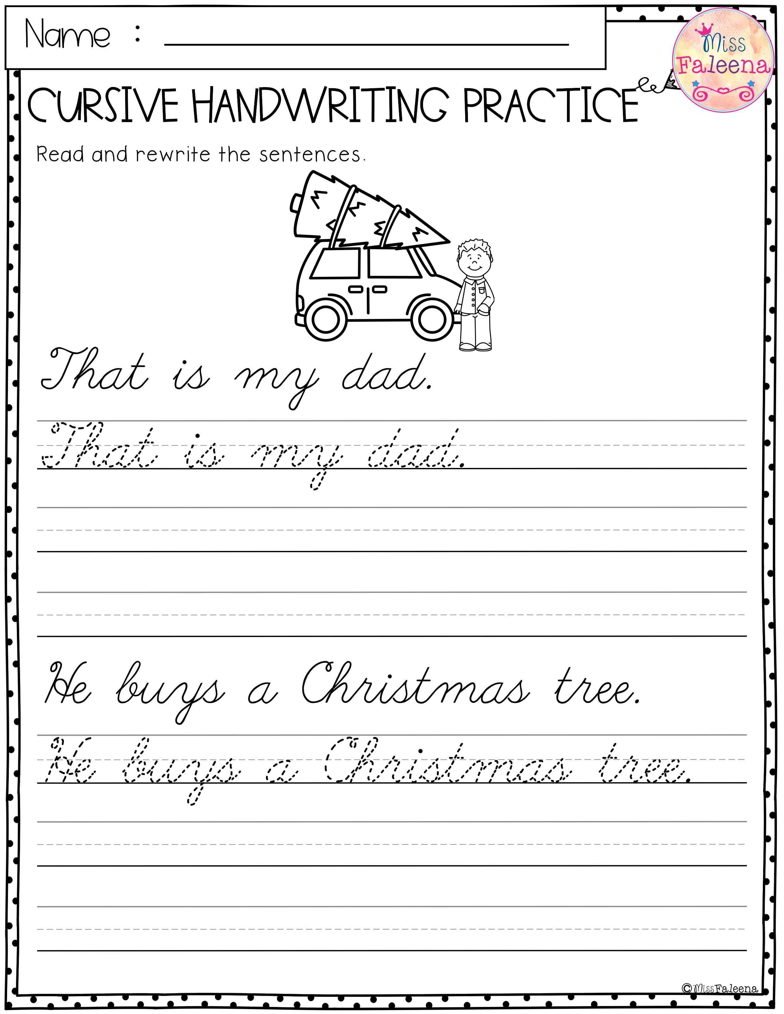Christmas Cursive Handwriting Practice Has 25 Pages Of Cursive Handwriting Worksheets Th Cursive Handwriting Practice Cursive Handwriting Handwriting Practice [ 3300 x 2550 Pixel ]