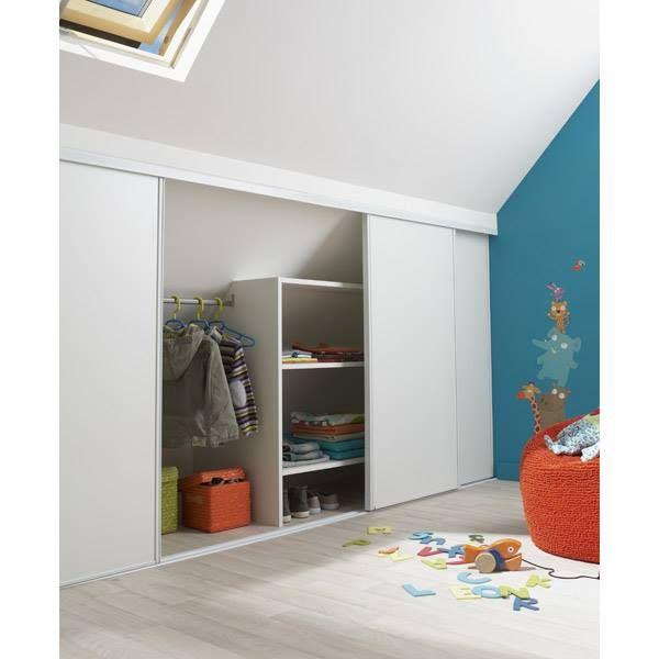id e rangement sous pente de toit chambre enfant pinterest pente de toit rangement sous. Black Bedroom Furniture Sets. Home Design Ideas