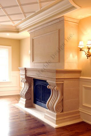 Limestone Fireplace Mantels California Toronto New York