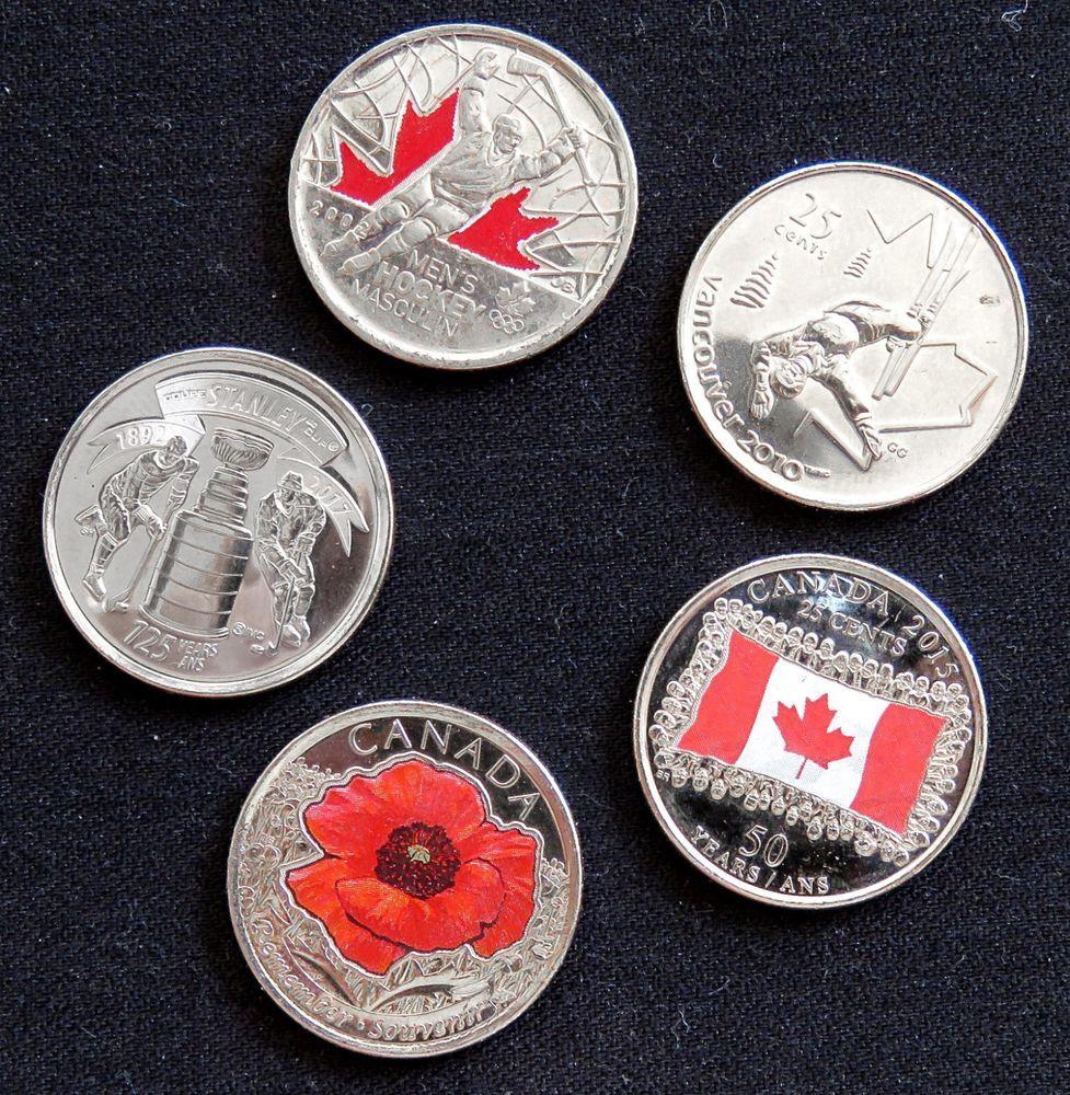 BU Canadian Quarter Canada 1996 25 cents Nice UNC