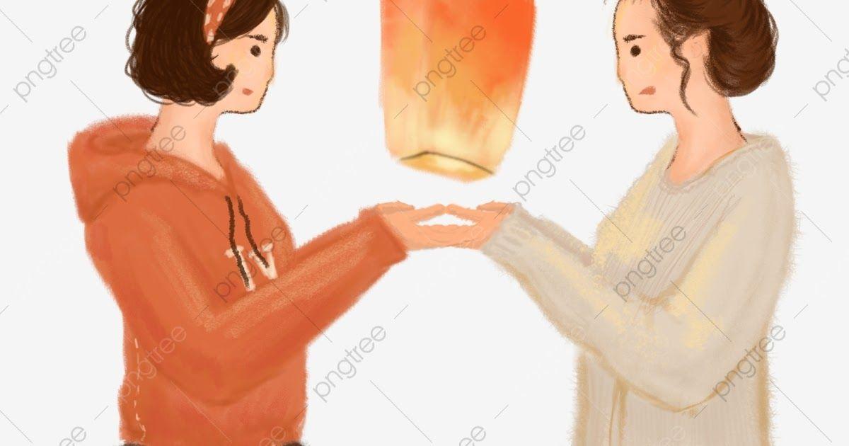 17 Gambar Kartun Orang Perempuan- Kartun Berdoa Untuk ...
