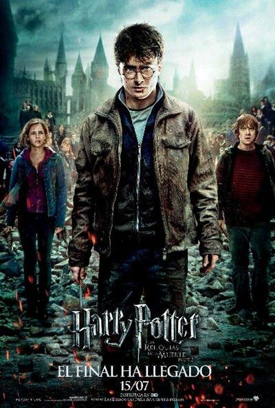 Harry Potter Y Las Reliquias De La Muerte Parte 2 Deathly Hallows Part 2 Harry Potter Deathly Hallows Harry Potter Poster