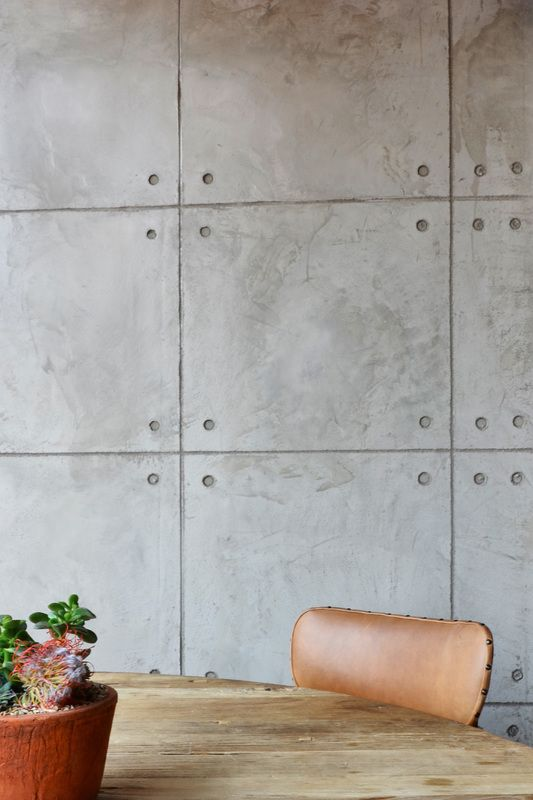 new doppio zero featuring cemcrete off shutter cemplaster feature walls concrete - Concrete Walls Design