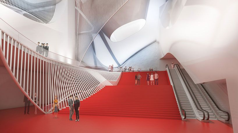 sejong, south korea the new 'center for the performing arts' by asymptote architecture