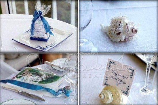 Wedding In Amalfi Coast Segnaposti E Allestimento Tavoli Nuziali In Tema Marino Tavola Nuziale Wedding Planner Allestimento