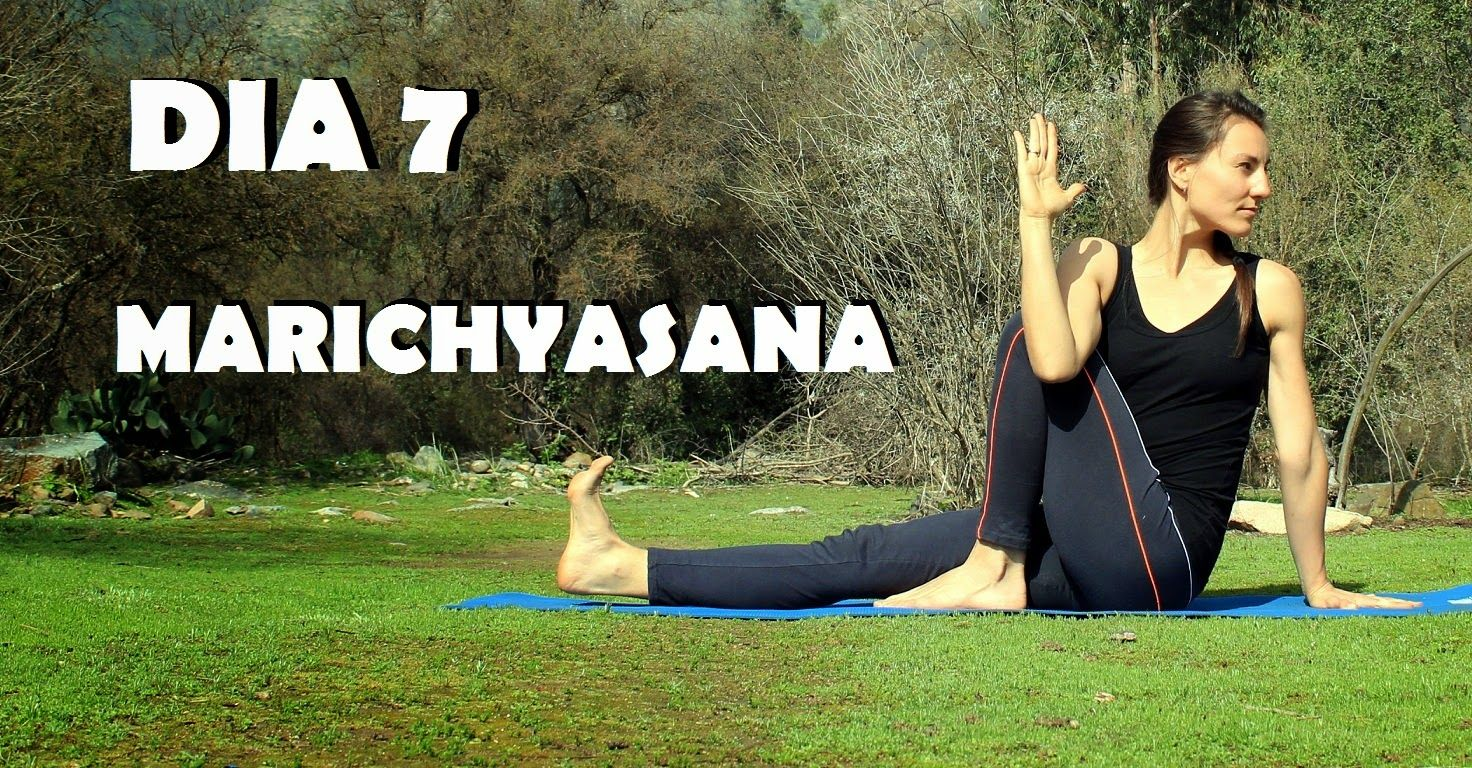 Elena Malova: Día 7 - Marichyasana Yoga Challenge #malovayogachallenge1