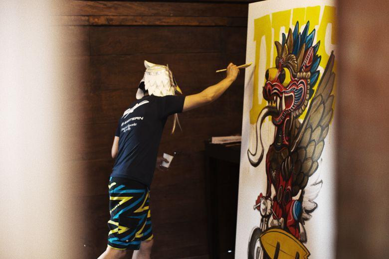 Artist In Residence : Rockin' Jelly Bean