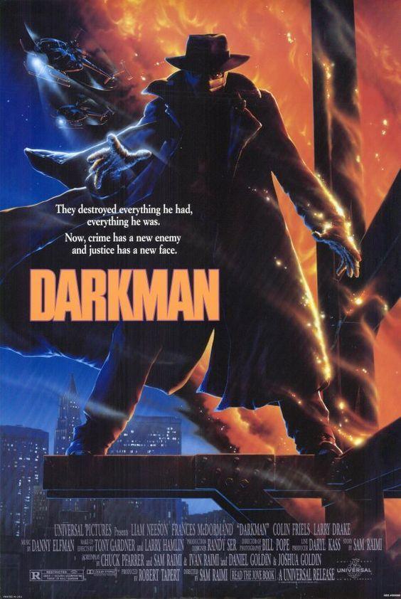 Darkman 1990 Filmes E Series Pinterest Anos 80 Filme E Anao