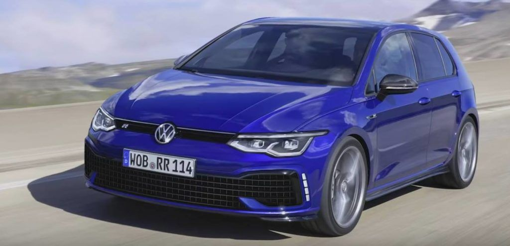 first information about the new vw golf r 8 2020 cars. Black Bedroom Furniture Sets. Home Design Ideas