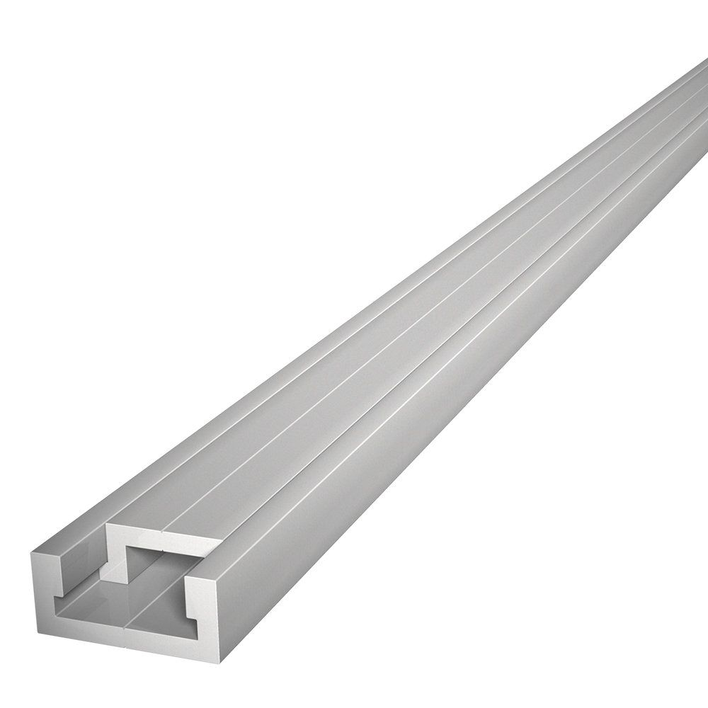 48 Quot Aluminum Miter T Track With Miter T Bar By Peachtree