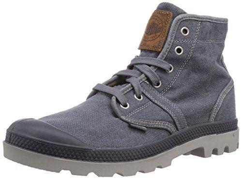 Palladium PAMPA HI BOUE M, Damen Desert Boots - Grau (BOUE 200), 37 EU (4 Damen UK)