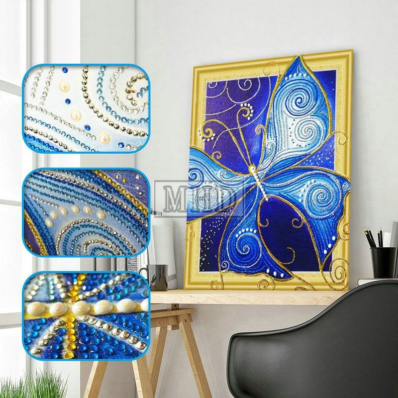 Special shaped Diamond Painting butterfly 5D DIY Diamond Embroidery Home Decor