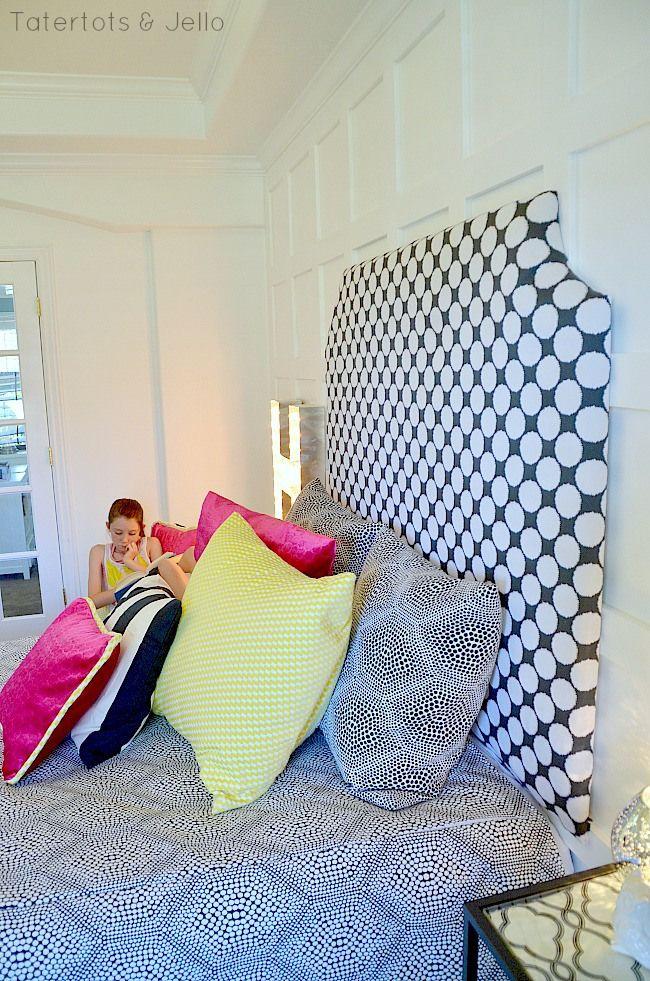 Best Make An Easy Diy Upholstered Headboard Cute Home Decor 400 x 300