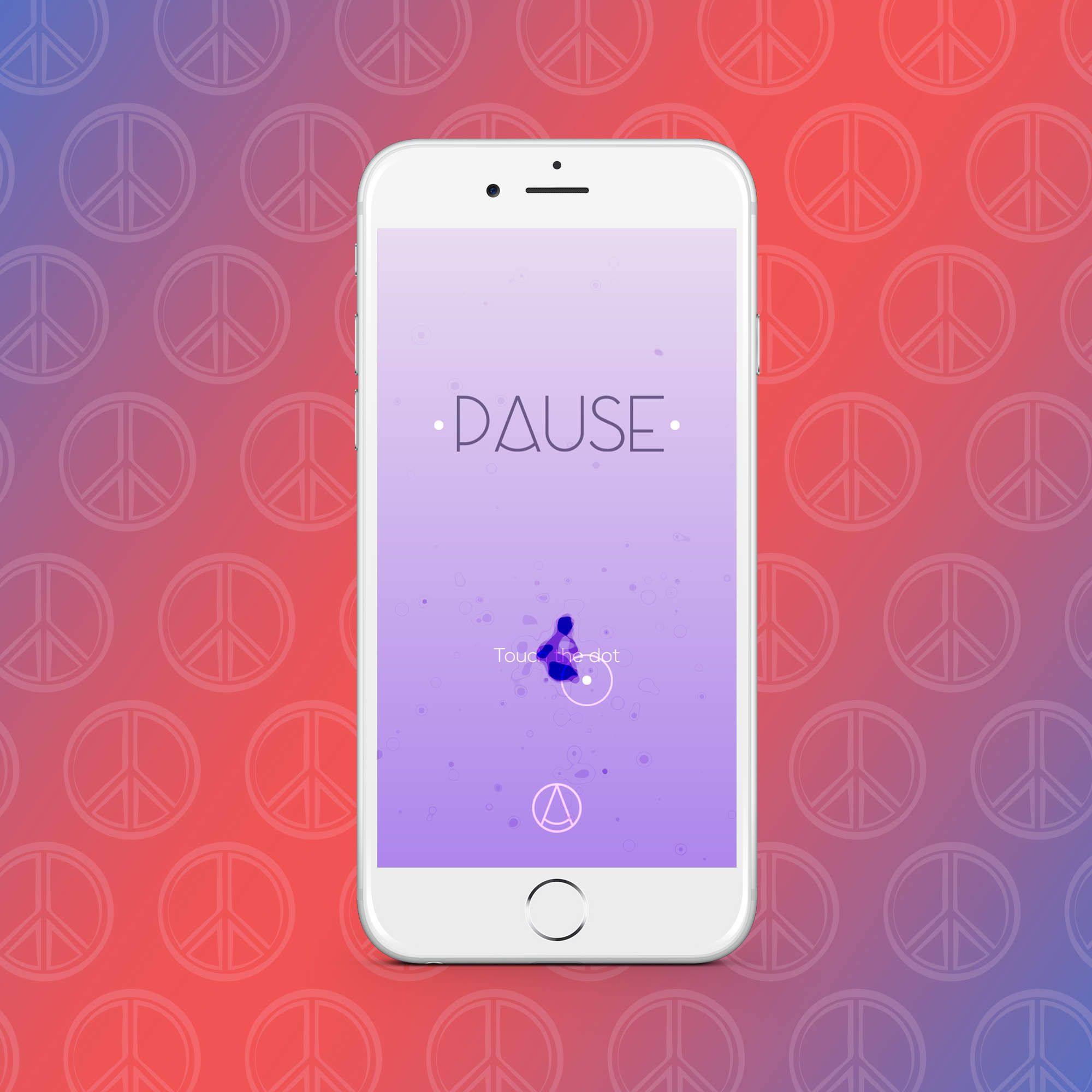 Look - Stress app for pause video