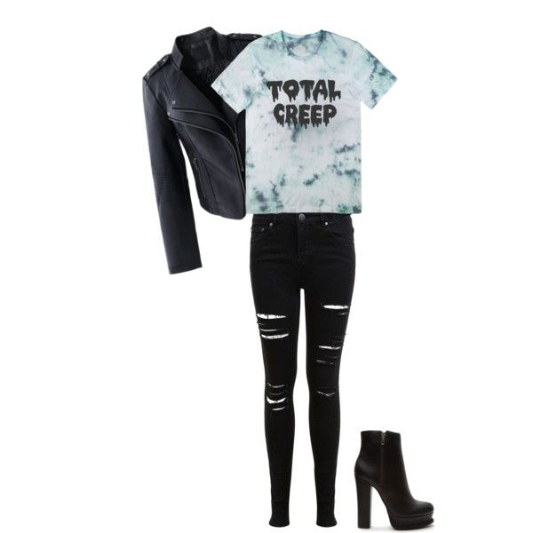 Dark Ocean by treppenwits on Polyvore featuring polyvore, мода, style, Chicwish, Miss Selfridge and Forever 21