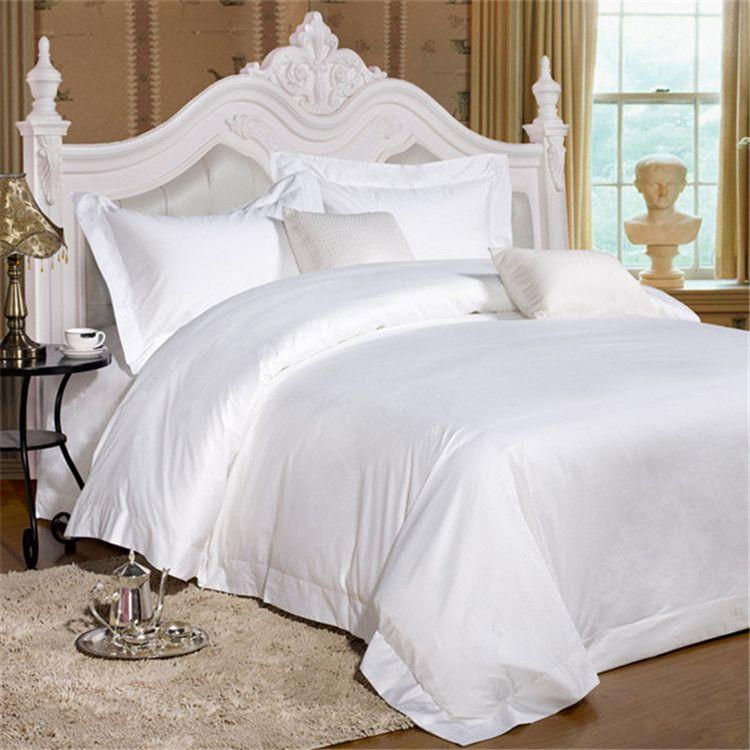 5 Star Hotel Cheap Bed Sheet Sets Satin Jacquard Bamboo Bedding Sheets