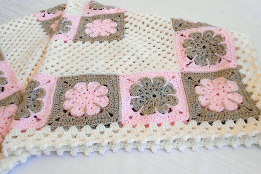 Crochet Pattern Easton Baby Afghan Pattern Blanket | UNCINETTO ...