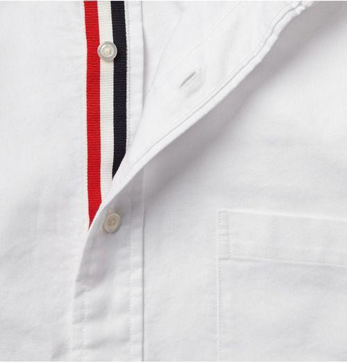 Thom Browne White Shirt Detail
