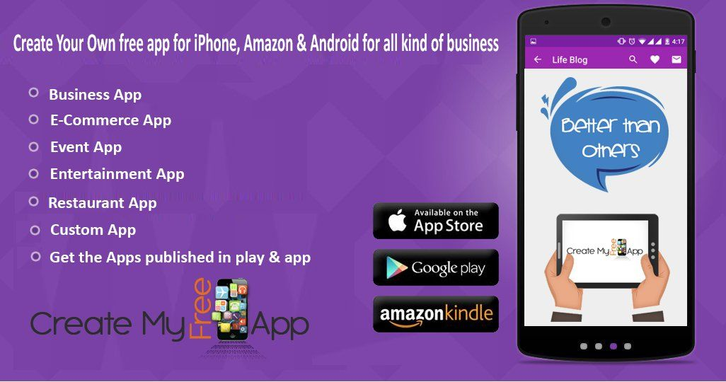 Pin by Create My Free App on Affiliate Partner | Mobile app