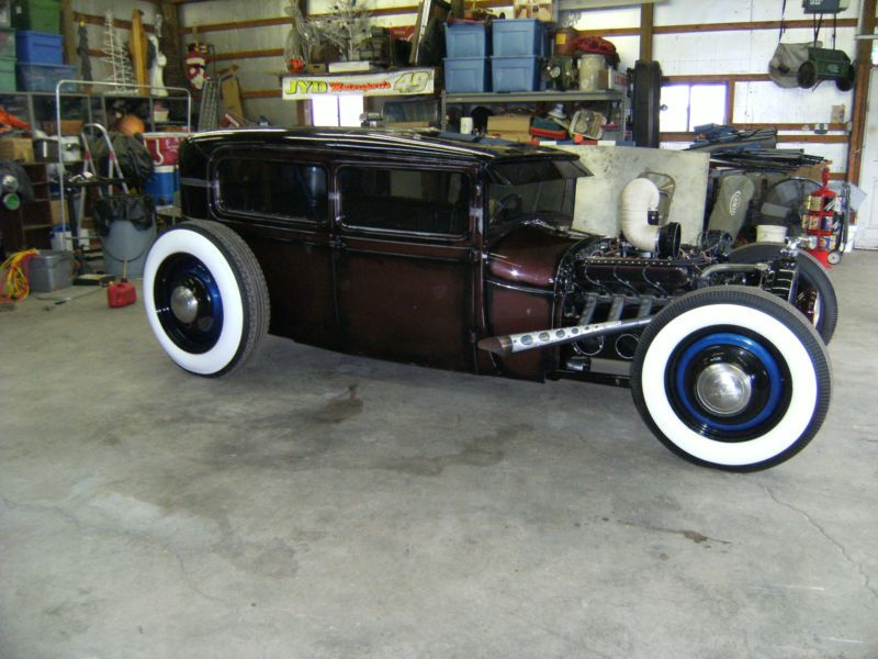 1929 FORD MODEL A SEDAN HOT ROD RAT ROD | Rods | Pinterest | Ford ...