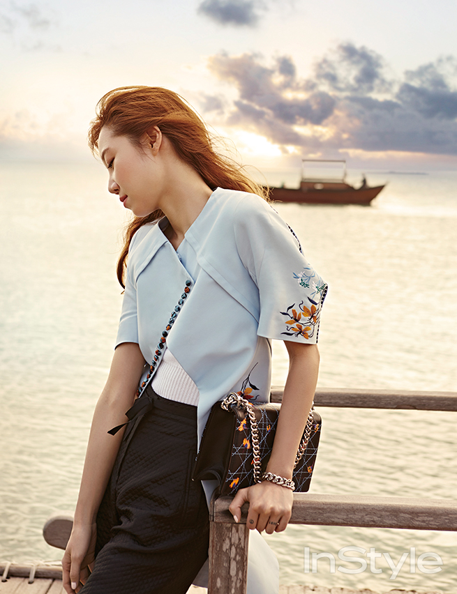 twenty2 blog: Gong Hyo Jin in InStyle Korea March 2015 | Fashion and Beauty