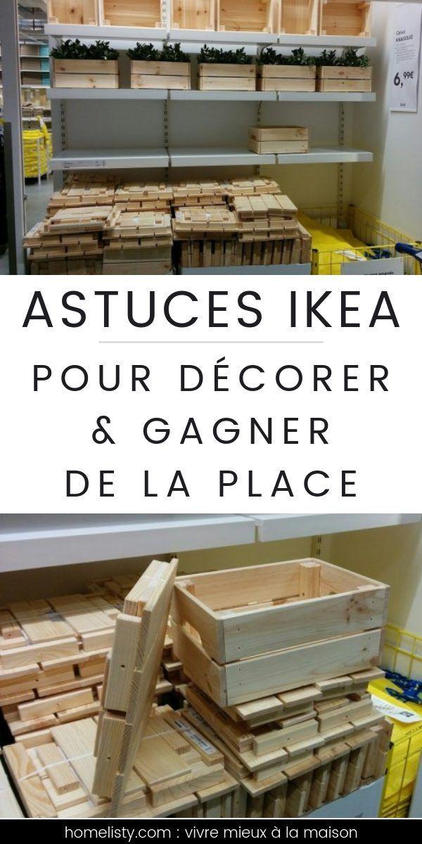 Meuble Chaussure Palette Astuces Ikea Pour Decorer Et Gagner De La Place Buanderie Cuisine En 2020 Ikea Rangement Sous Evier Meubles Faits Maison