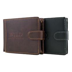Vyriska pinigine Wild   Uzsegamos odinės vyriskos pinigines Wild.