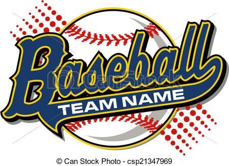 Can Stock Photo Earlferguson Image Portfolio Baseball Design Baseball Team Shirt Baseball Backgrounds