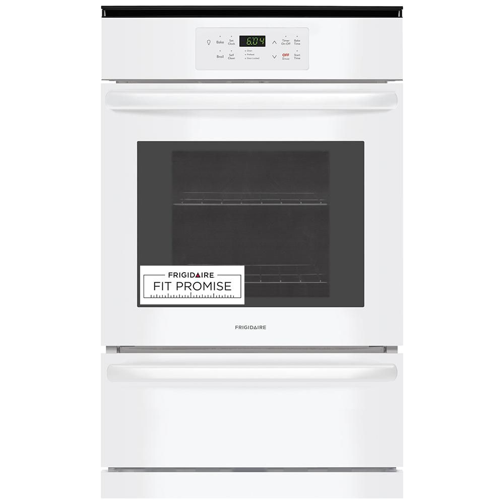 Frigidaire 24 In Single Gas Wall Oven In White With Images