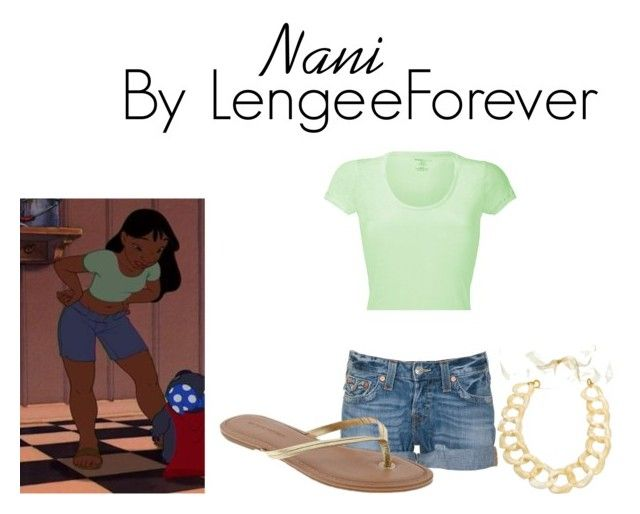 """""""Nani"""" by niley12345 ❤ liked on Polyvore featuring True Religion, Majestic, Banana Republic, Amanda Pearl, hawaii, cute, take children away, bf, surf and pet"""