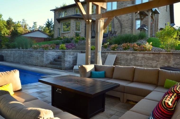 50 Moderne Gartengestaltung Ideen: Gartengestaltung: 50 Frische Und Moderne Ideen