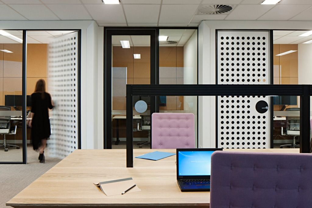 Unispace has designed the offices for biopharmaceutical company celgene located in melbourne australia trust and innovation is key to celgenes success i