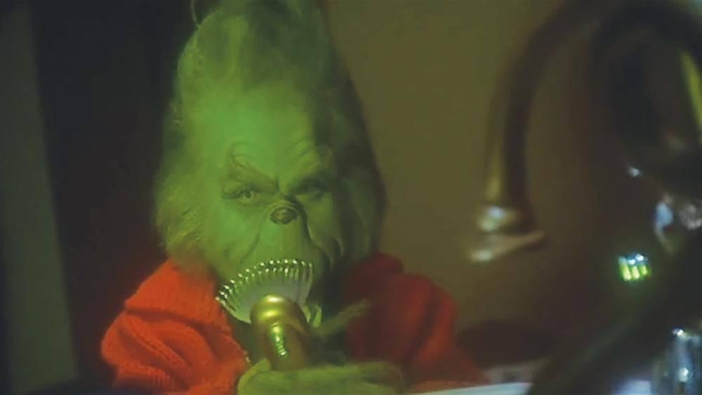 Shave that hairy grinch