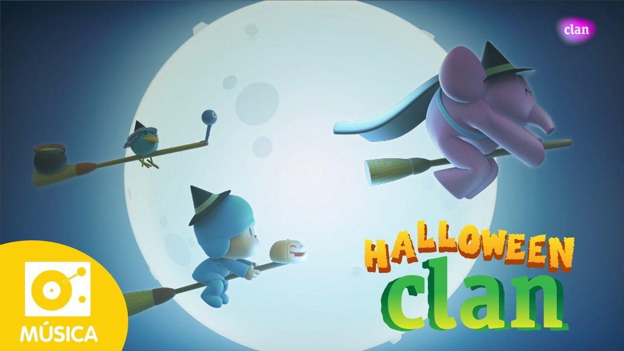 Pocoyo e Clan: canção do Dia das Bruxas! HALLOWEEN